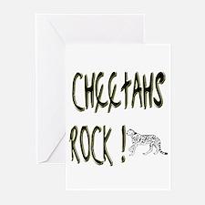 Cheetahs Rock ! Greeting Cards (Pk of 20)