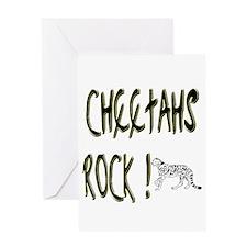 Cheetahs Rock ! Greeting Card
