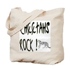 Cheetahs Rock ! Tote Bag