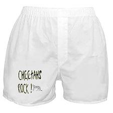 Cheetahs Rock ! Boxer Shorts