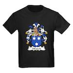 Wasch Family Crest Kids Dark T-Shirt