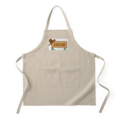 Austin western BBQ Apron