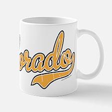 Colorado Script Gold VINTAGE Mug