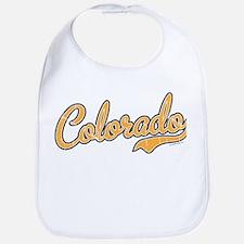 Colorado Script Gold VINTAGE Bib