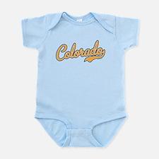 Colorado Script Gold VINTAGE Infant Bodysuit