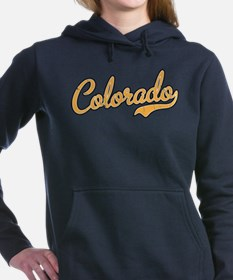 Colorado Script Gold VIN Women's Hooded Sweatshirt