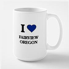 I love Fairview Oregon Mugs