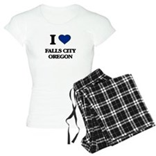 I love Falls City Oregon Pajamas