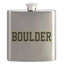 Boulder Jersey White Flask