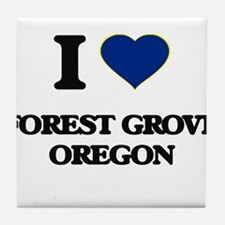 I love Forest Grove Oregon Tile Coaster