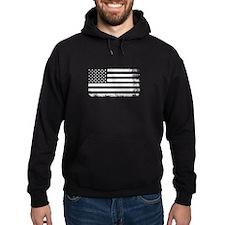 Vintage USA Flag Hoodie