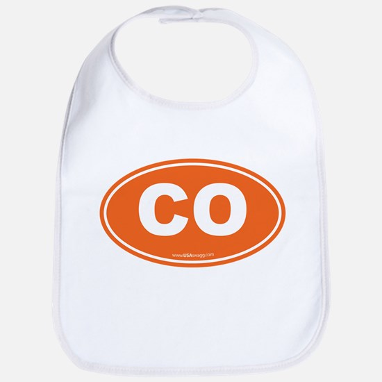 Colorado CO Euro Oval ORANGE Bib