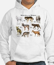 Wolves of the World Hoodie