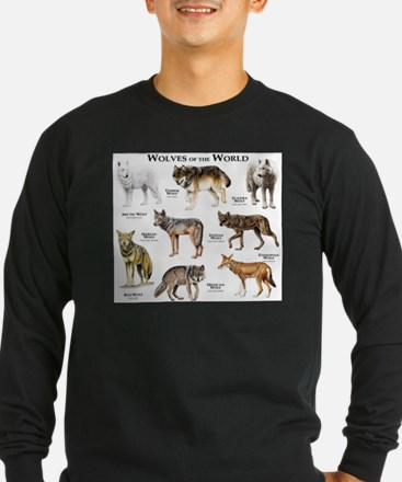Wolves of the World T