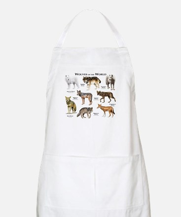 Wolves of the World Apron