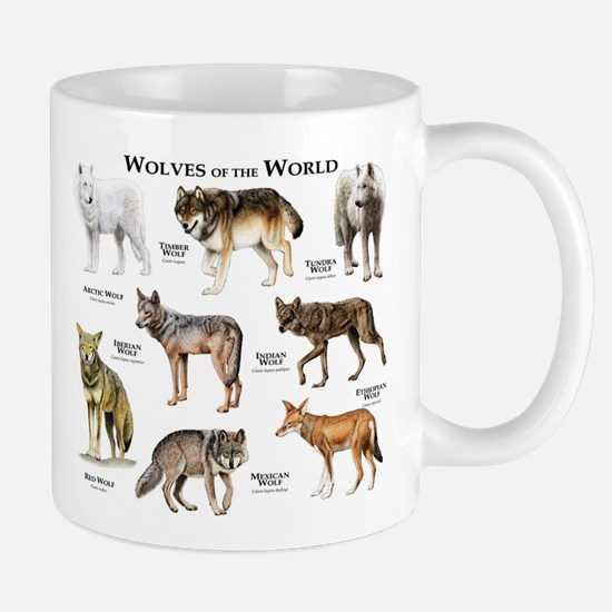 Wolves of the World Mug