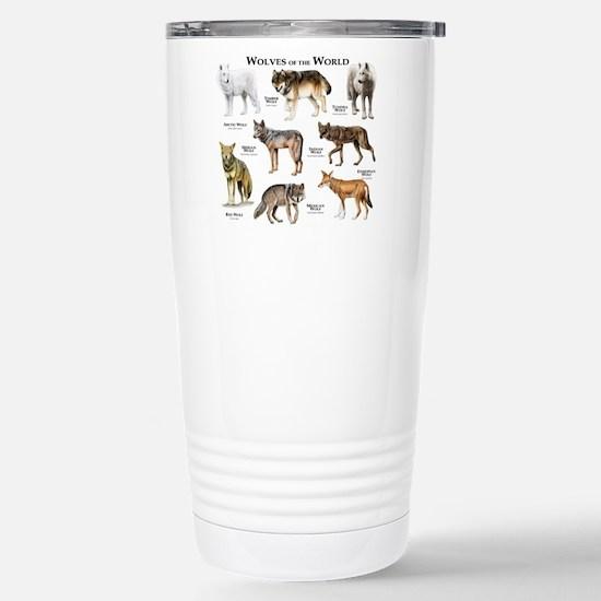 Wolves of the World Stainless Steel Travel Mug
