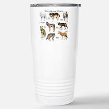 Wolves of the World Travel Mug