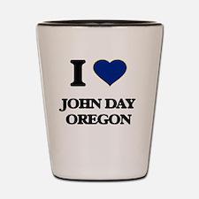 I love John Day Oregon Shot Glass