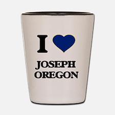 I love Joseph Oregon Shot Glass