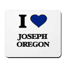 I love Joseph Oregon Mousepad