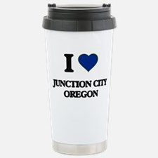 I love Junction City Or Travel Mug