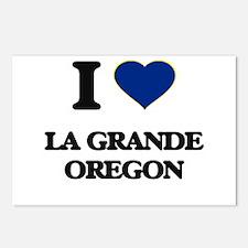 I love La Grande Oregon Postcards (Package of 8)