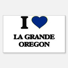 I love La Grande Oregon Decal