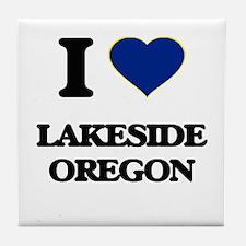 I love Lakeside Oregon Tile Coaster