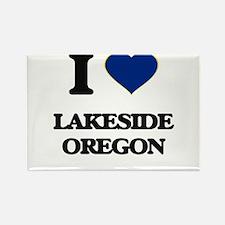 I love Lakeside Oregon Magnets