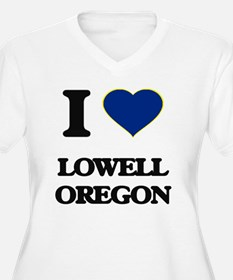I love Lowell Oregon Plus Size T-Shirt