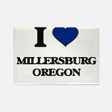 I love Millersburg Oregon Magnets