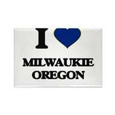 I love Milwaukie Oregon Magnets
