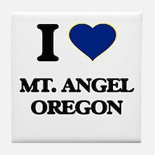 I love Mt. Angel Oregon Tile Coaster