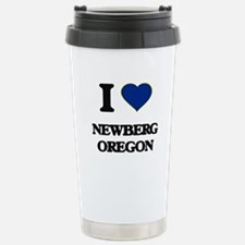 I love Newberg Oregon Travel Mug