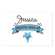 Proud Mom Of Son Postcards (Package of 8)