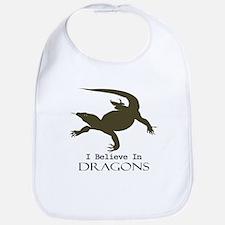 I Believe In Dragons Bib