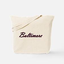 Warzone Baltimore Tote Bag