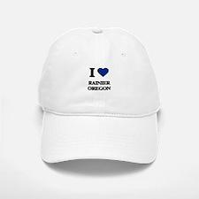 I love Rainier Oregon Baseball Baseball Cap