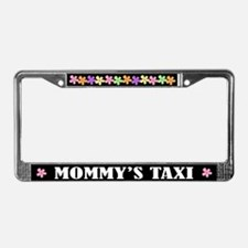 Mommy's Taxi License Plate Frame