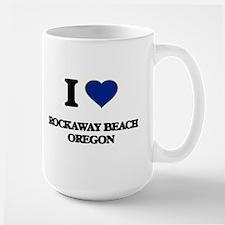 I love Rockaway Beach Oregon Mugs