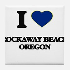 I love Rockaway Beach Oregon Tile Coaster