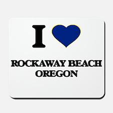 I love Rockaway Beach Oregon Mousepad