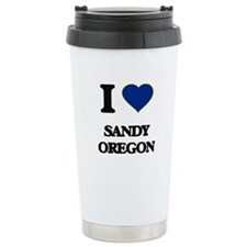 I love Sandy Oregon Travel Mug