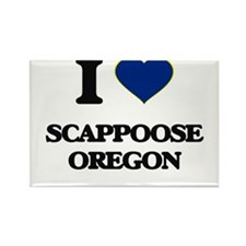 I love Scappoose Oregon Magnets