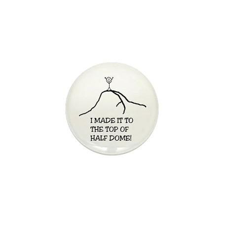 I Made It! Half Dome Mini Button (100 pack)