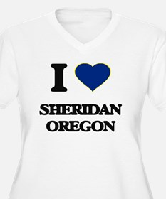 I love Sheridan Oregon Plus Size T-Shirt