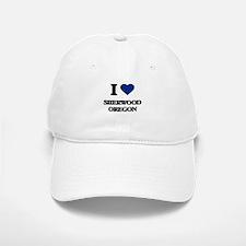 I love Sherwood Oregon Baseball Baseball Cap