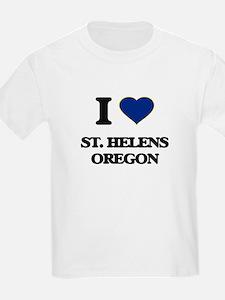 I love St. Helens Oregon T-Shirt