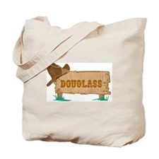 Douglass western Tote Bag